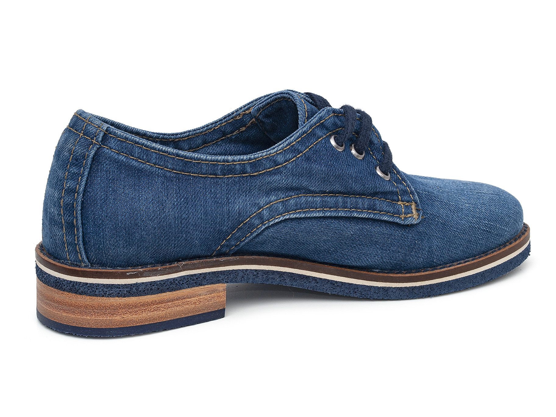 Scarpe di jeans donna 46C-233 mustang shoes